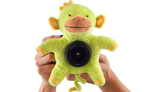 Get the Perfect Picture! CHIMPANCHEEZ™ Plush Toy for Your Camera