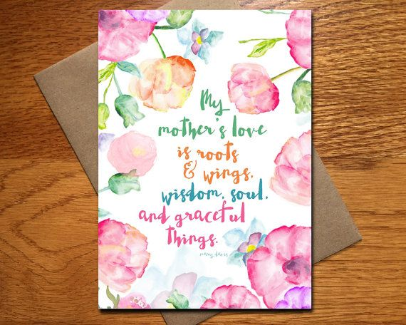 25 best greeting cards every day spirit images on pinterest card mothers day card every day spirit my mothers love mother daughter pretty card for mom roots and wings for mom card mothers day m4hsunfo Images