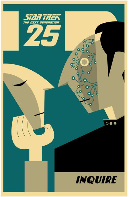 *DATA* Exclusive 25th Anniversary TNG prints. Boldly going where no print has gone before!! Want them!!