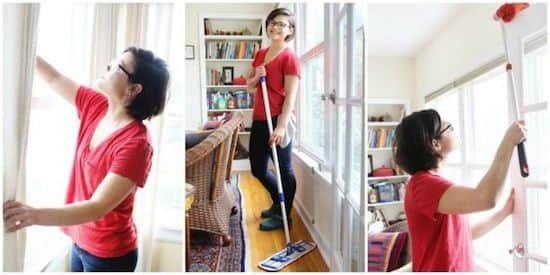 Comment nettoyer la salle à manger en seulement 7 minutes ?