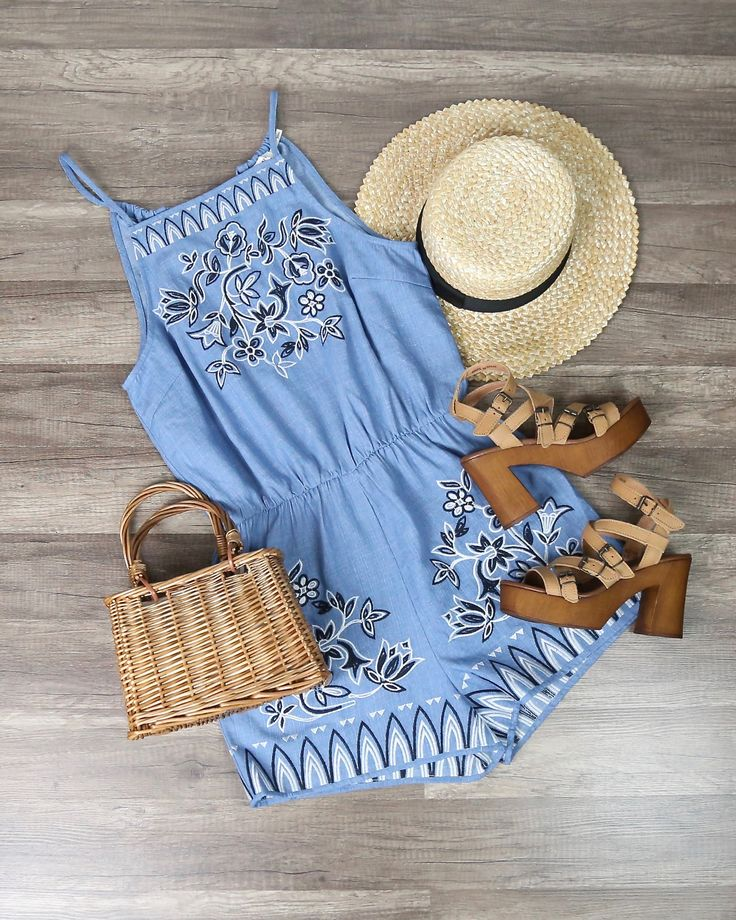 Pin on romper with ankle boots , sandals