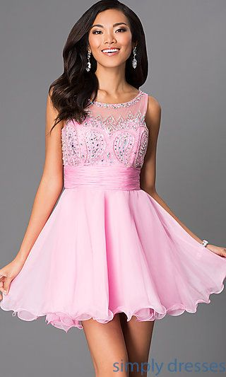 25  best ideas about Short pink prom dresses on Pinterest | Pink ...