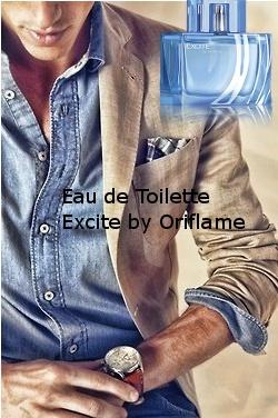 Eau de Toilette Excite  by Oriflame