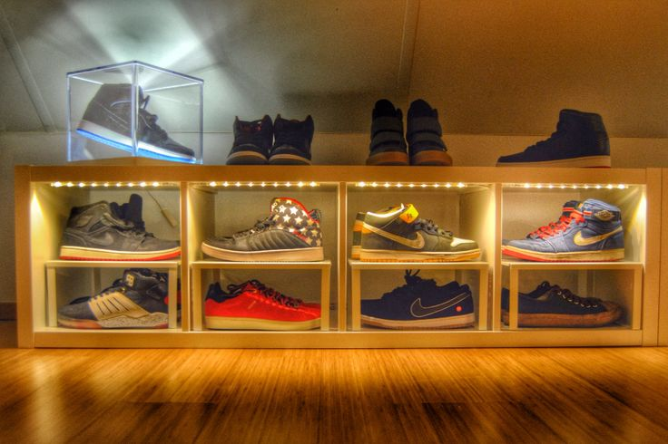 DIY Sneaker Display #ikeahack