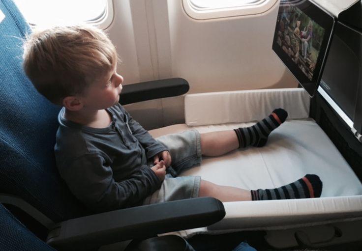 BedBox de JetKids : un lit pour enfant dans l'avion