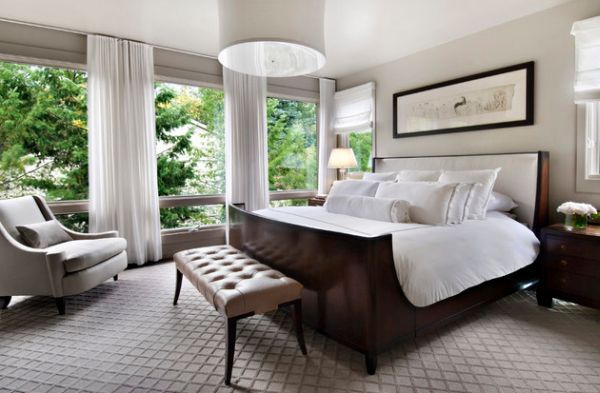 50 Sleigh Bed Inspirations For A Cozy Modern Bedroom