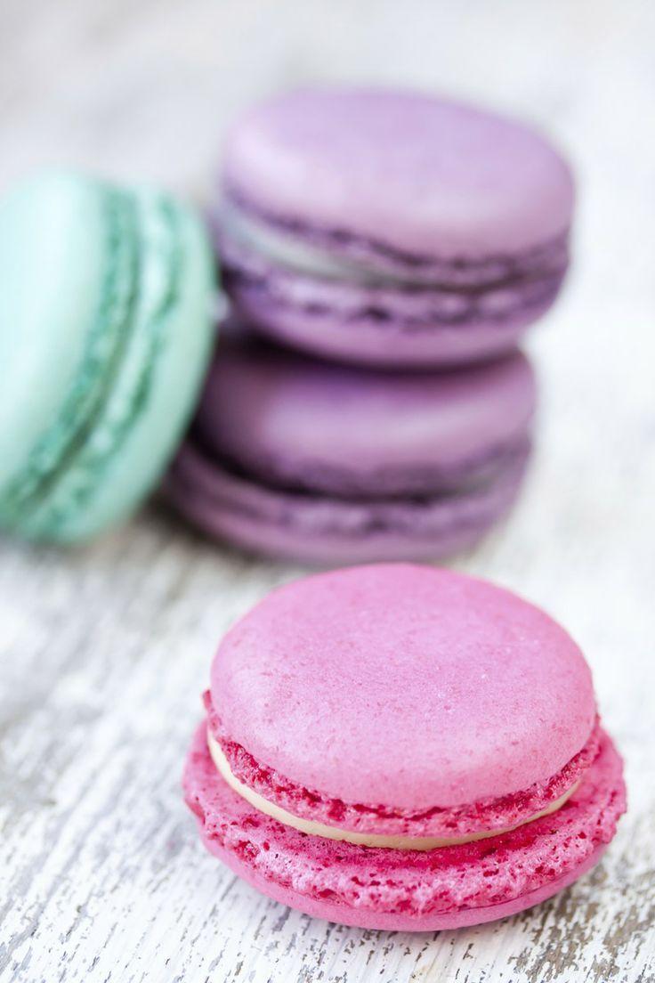 macarons, macaron pink, rosa, chic, merienda, Paris www.PiensaenChic.com