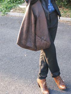Les 25 meilleures id es de la cat gorie sac en origami sur for Boite a couture en cuir