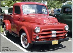54 Dodge Pickup   Historia Dodge Pickups & Trucks (Vehículos de Carga)