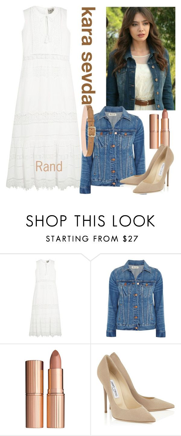 """kara sevda"" by nodialkofi ❤ liked on Polyvore featuring Sea, New York, Madewell, Charlotte Tilbury and rag & bone"