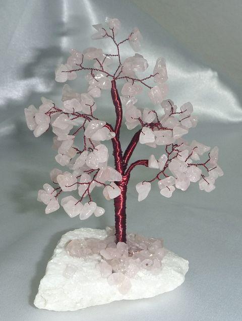 Pomisor cu pietre semipretioase - cuart roz