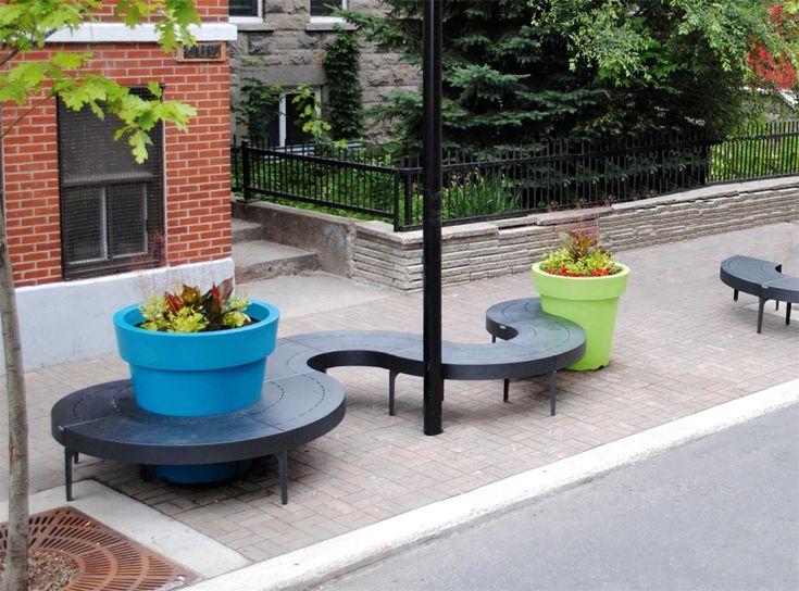 Relaks w mieście? To możliwe! - Inspirowani Naturą | modern design public furniture by terra group