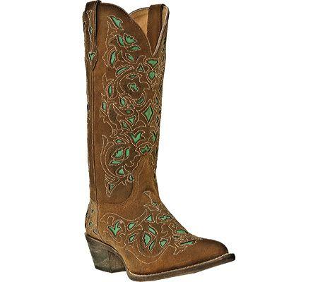 Laredo Miranda 52102 - Brown/Turquoise Leather - Free Shipping & Return Shipping - Shoebuy.com