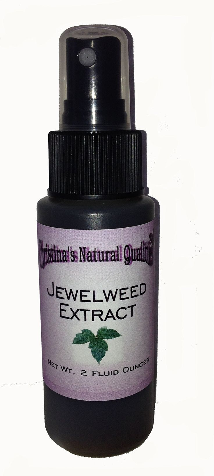Jewelweed Extract Spritzer for Poison Ivy, Poison Oak. Relief and Prevention of Poison Ivy and Oak. Works Fast! 24-48 Hours. Instant Itch Relief. Convenient Spray Bottle.