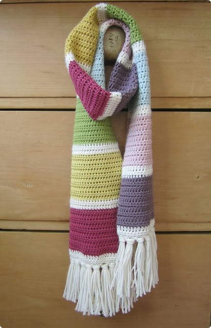 The most scrummy scarf from Pink Milk blog