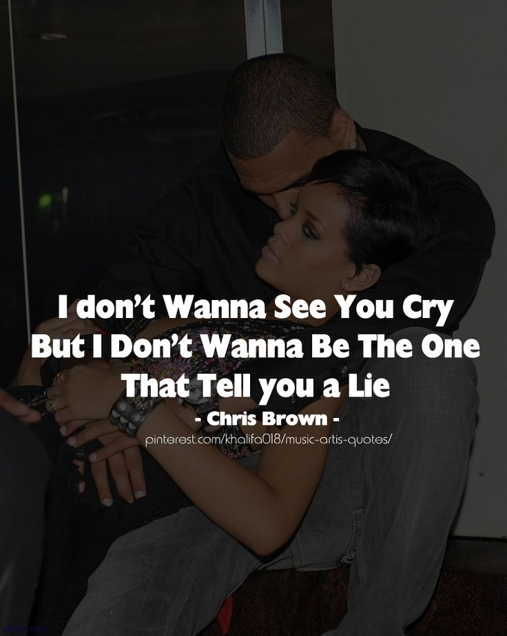 Cry Lie - Chris Brown ...