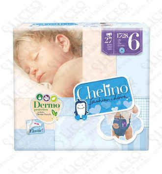 PAÑAL INFANTIL CHELINO FASHION and LOVE T- 6 (17 -