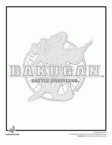 bakugan hydranoid coloring pages - photo#34