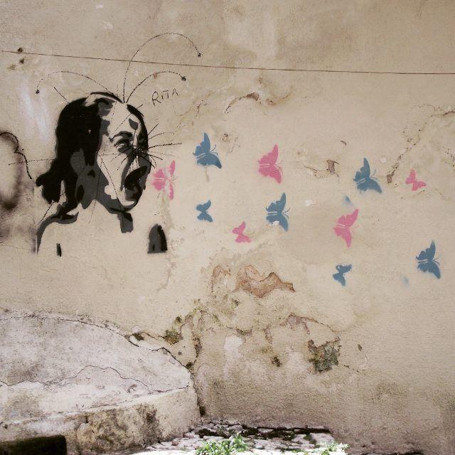 Street art Alfama - Lisboa,Portugal Photo by:ED D'Oliveira