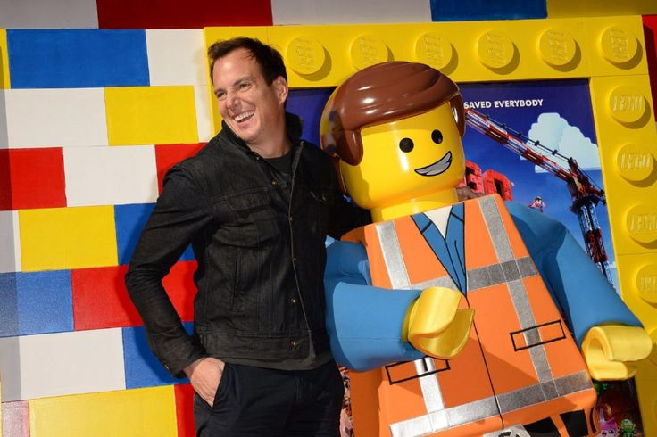 Will Arnett is the voice of Batman in The Lego Movie.