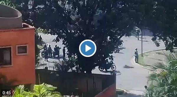 Régimen ataca despiadadamente la Urbanización La Granja de Naguanagua