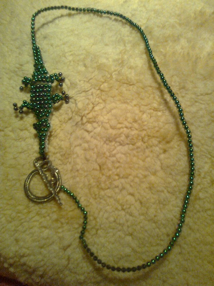 krokodíl náhrdelník