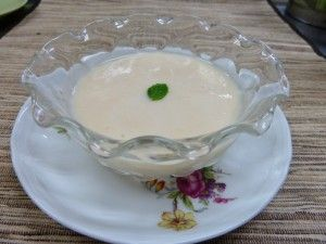 桃のスープ(夏限定)ペンション あるびおん