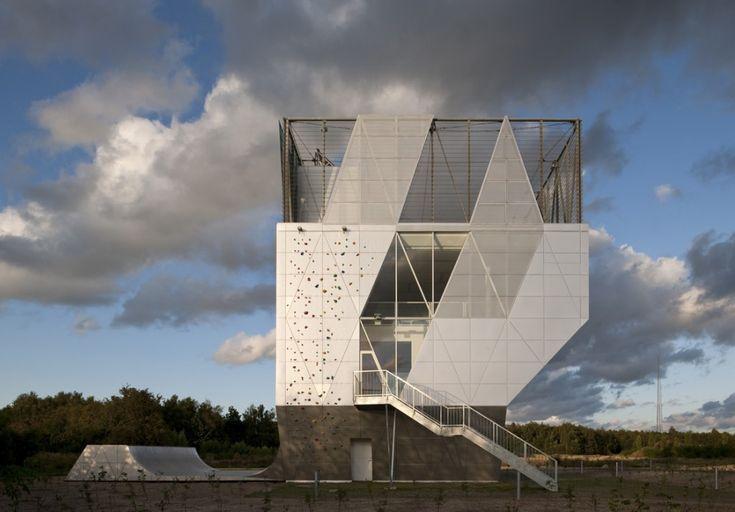 Climbing Wall + Architecture! - Community centre Herstedlund / Dorte Mandrup Arkitekter