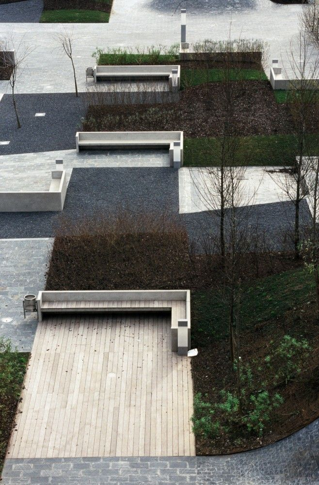 Desert Plaza , Barakaldo, Biscay, Spain by NO.MAD architects. Click image for link to full profile and visit the slowottawa.ca boards >> http://www.pinterest.com/slowottawa/