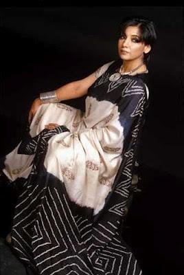 A designer sari