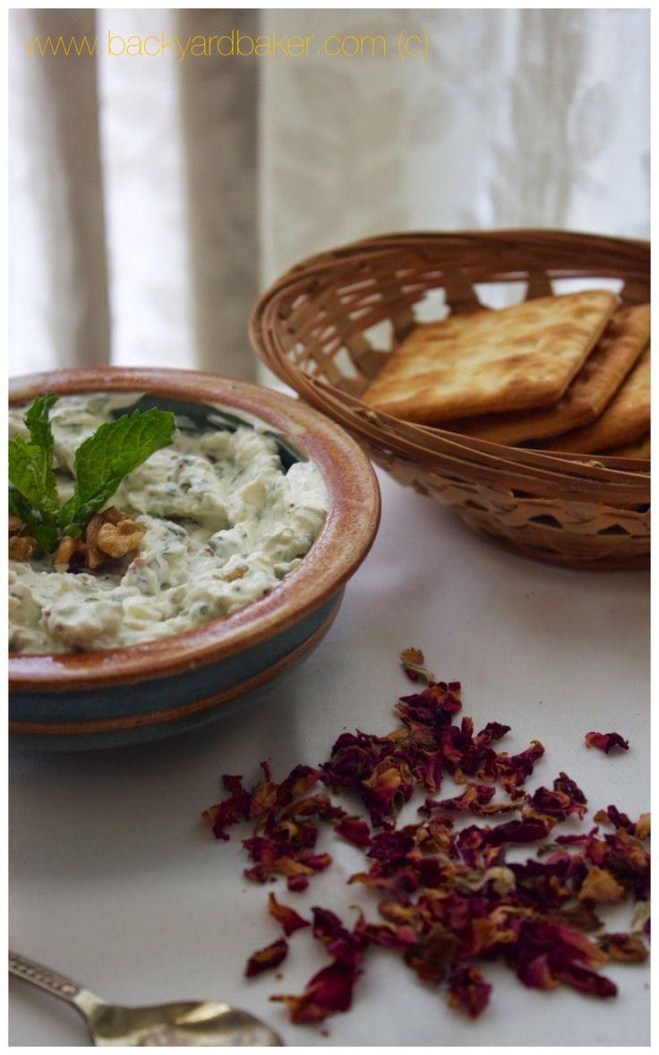 The Backyard Baker: Condiment Series | Mast-O-Khiar | Dip