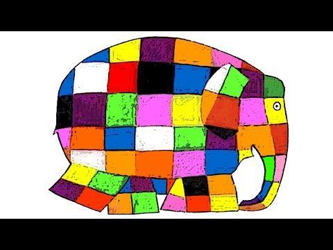 El elefante Elmer - David McKee - Cuentos infantiles