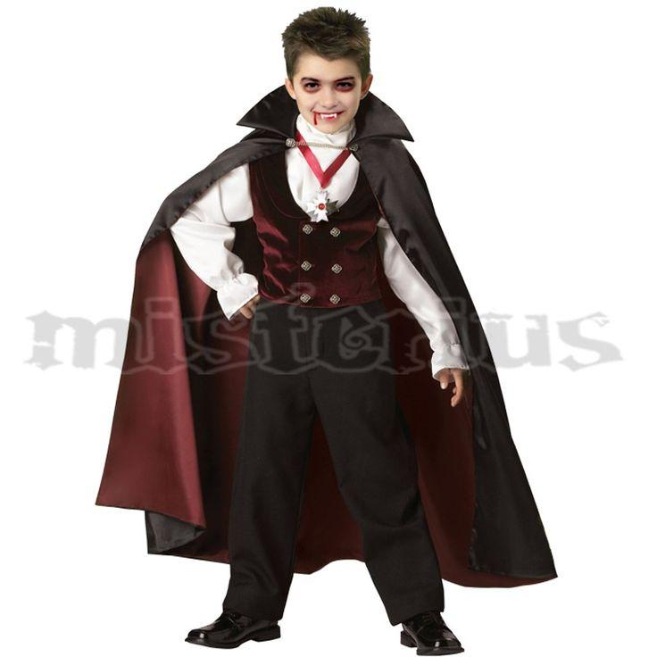 Fato Vampiro Granate Criança