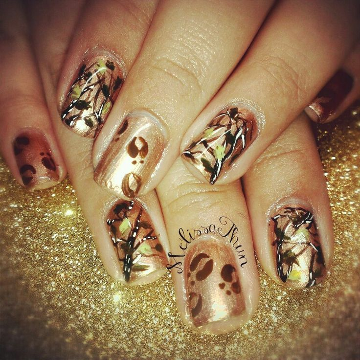 Country Girl Nail Art: 1000+ Ideas About Mossy Oak Nails On Pinterest