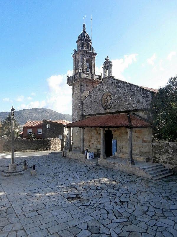 1000 Lugares En Galicia Iglesia De Santa María Do Campo En Muros Parte 1 Iglesia Monumentos Arquitectura Fotografia