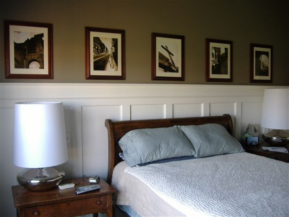 Wainscotting Master Bedroom Ideas Hgtv Hgtvremodels Hgtvgardens Hgtv S Frontdoor Diynetwork Hgtv Master Bedroom Pinterest Against