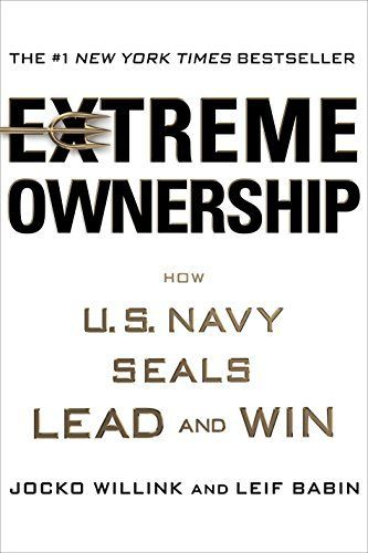 Extreme Ownership is a leadership philosophy from the US Navy SEALS. Any leader working and operating in a competitive market can learn something from this.