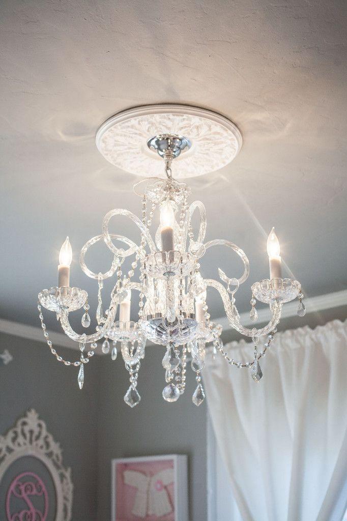 Best Lighting In Nursery Images On Pinterest Child Room - Girl light fixtures bedrooms