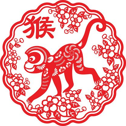 96 best Year of the Monkey images on Pinterest Chinese new years - fresh chinese new year zodiac coloring pages