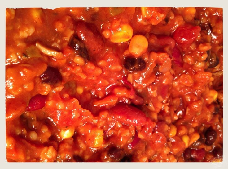 Scott Jurek's vegan Minnesota winter chili - we make this about every other week in the cold months!! :)