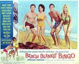 Spice and Sass: Beach Blanket Bingo  Loved all the beach movies with Frankie and Annette