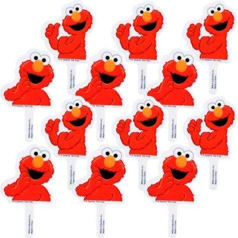 9 best elmo images on pinterest sesame streets 2nd for Printable elmo cake template