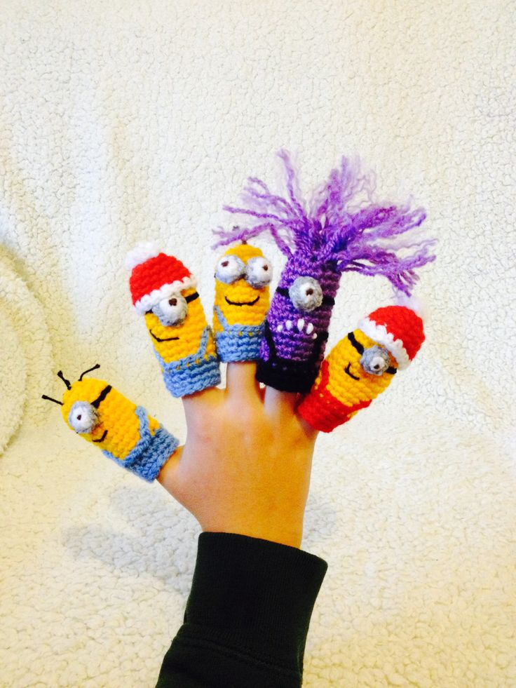 Finger puppets https://www.facebook.com/DoubleTrebleTrinkets