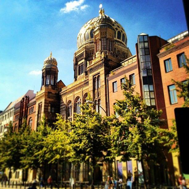 Neue Synagoge   New Synagogue in Berlin, Berlin