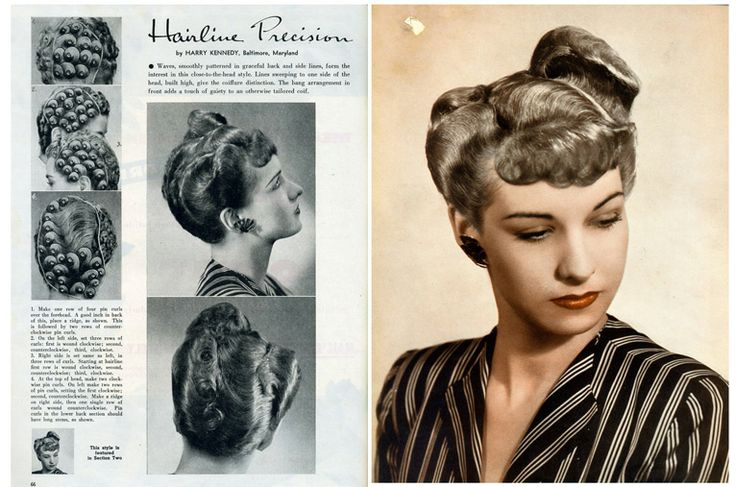 Hair Style 1940: 54 Best Images About 1940's Hair, Makeup & Fashion On