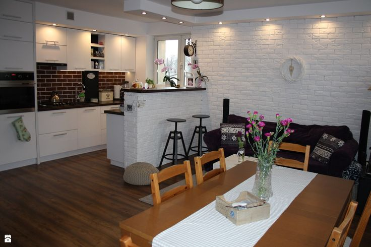 kuchnia otwarta na salon  zdjęcie od Aneta Czubaszek   -> Kuchnia Szeroko Otwarta Lazania