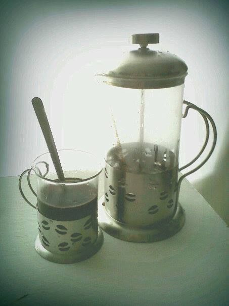 Good morning ^ ^ French coffee press
