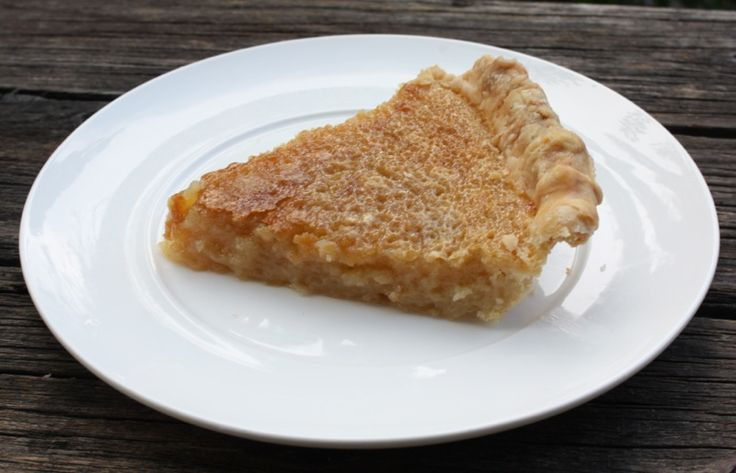 Canadian Maple Sugar Pie | Recipes - desserts - pies and
