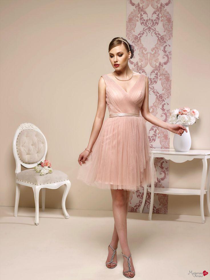 Robes de cocktail Mademoiselle Amour, modèle Doha http://www.pronuptia.com/fr