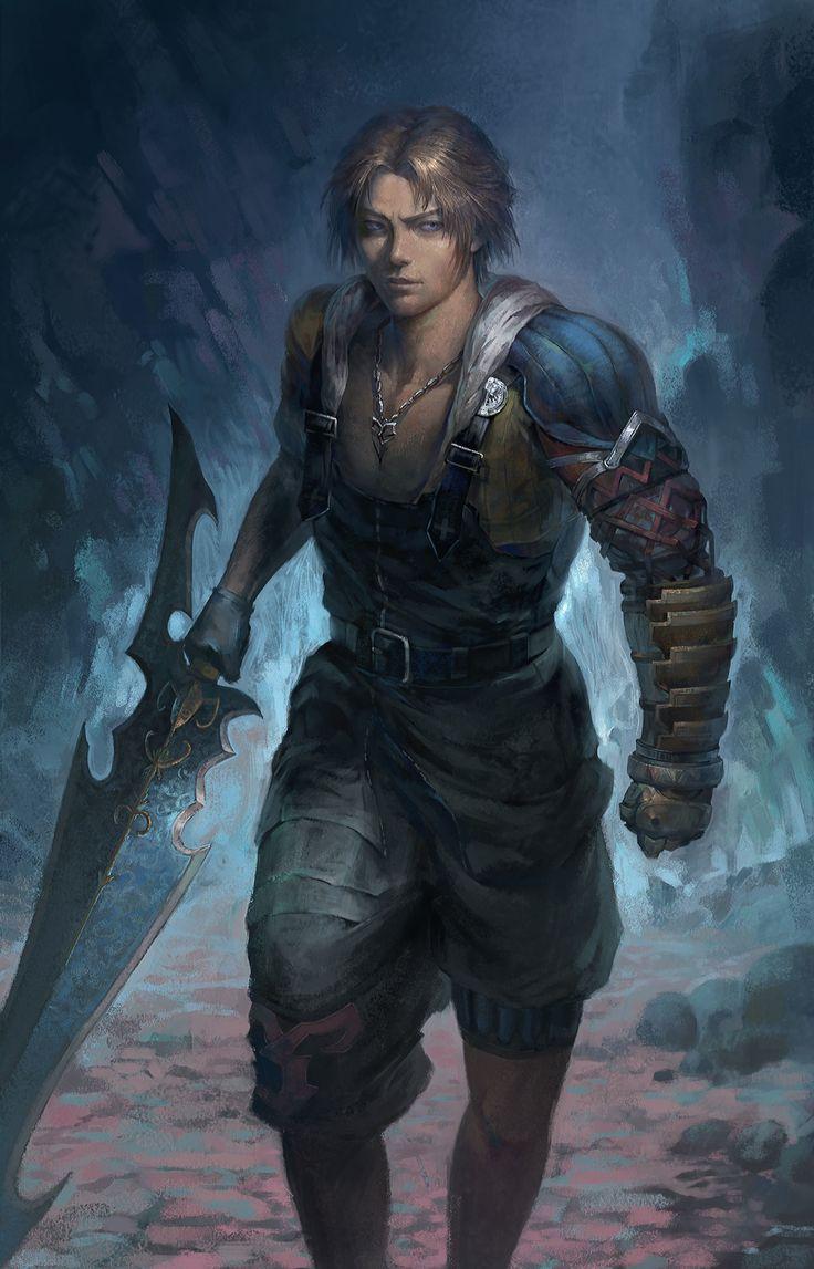 ArtStation – art, Nero Gen – Final Fantasy
